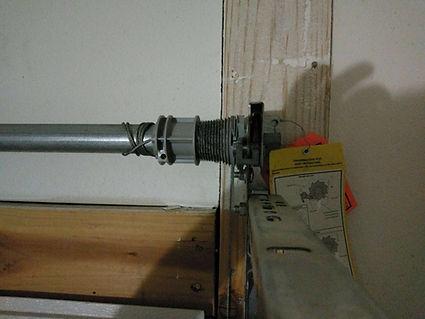 Garage door spring system replacement in Irvine CA