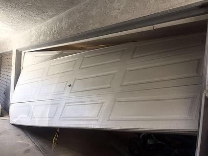 Off track broken gaage door repair