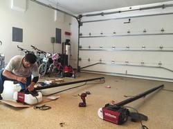 Custom Garage Door Opener