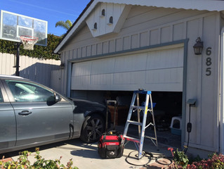 Do Not Complete Garage Door Service Alone