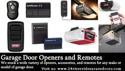 Garage Door Opener, Remotes, Keypads