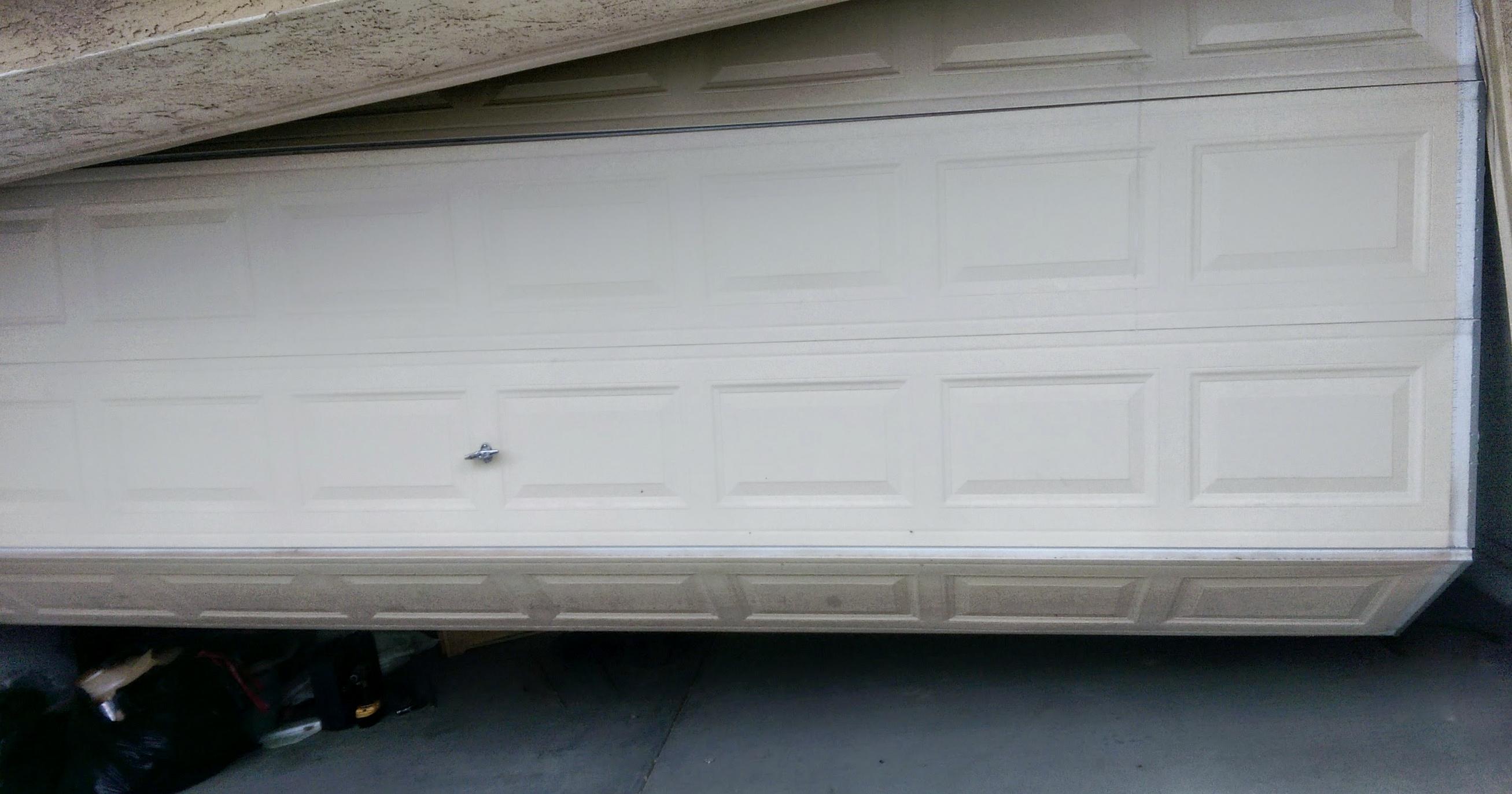 Brokn Garage Door