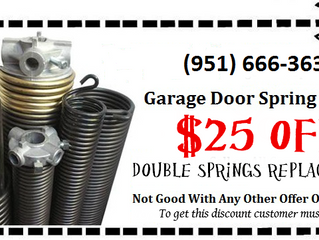 It's Time for Care & Garage Door Spring Cleaning