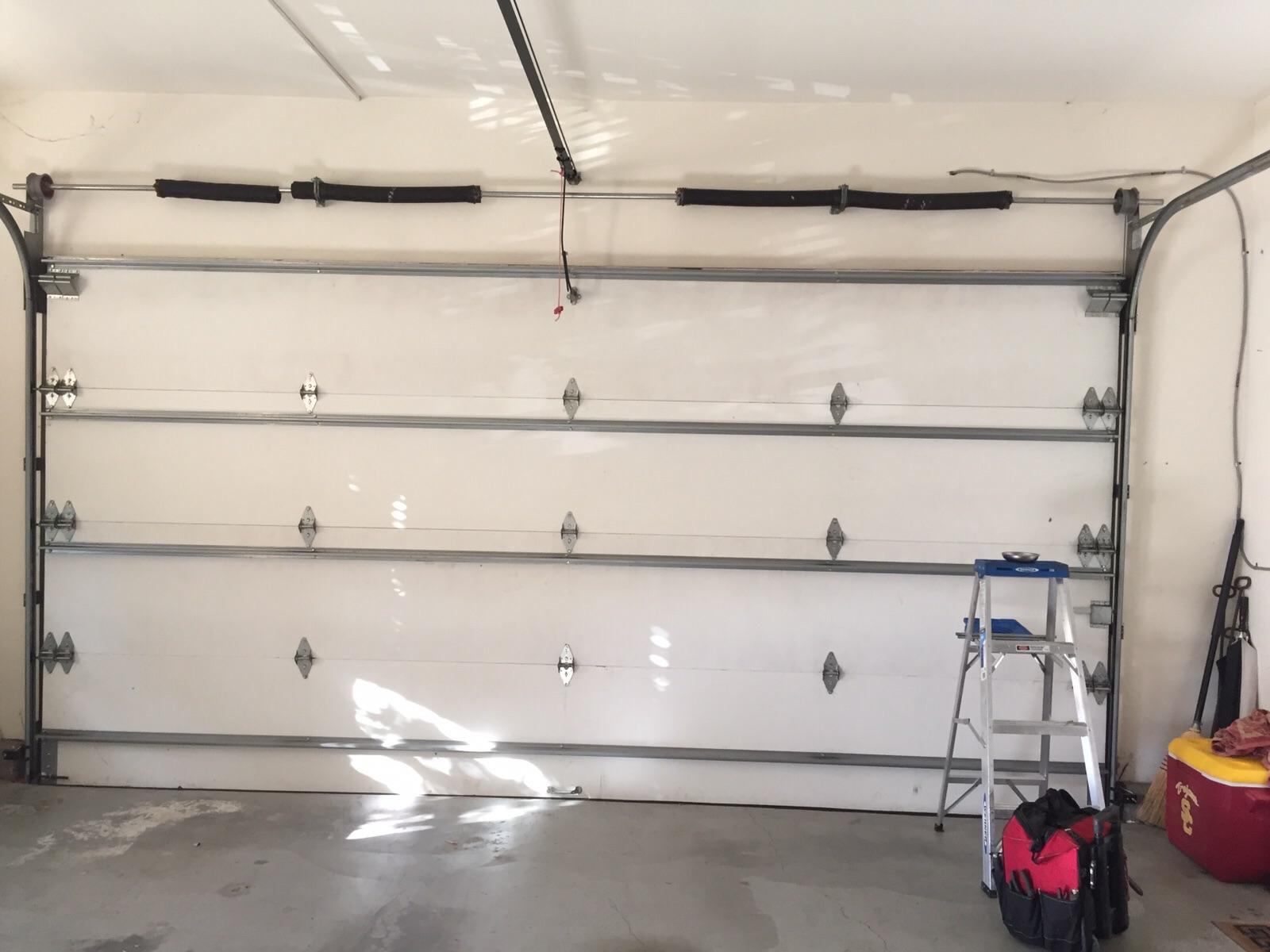 Custom Garage Door Broken Spring