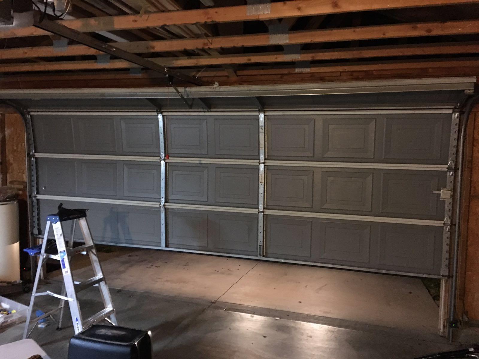 Broken Garage Door Fixed