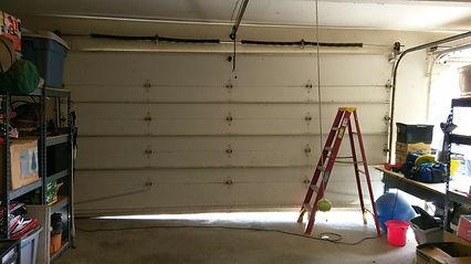 Garag door torsin custom spring replacement in Orange County CA
