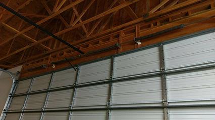 Garage door broken springs repair in Irvine CA