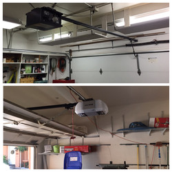 Opener Installation Before And After