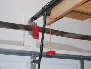 How to prevent garage door break-in?