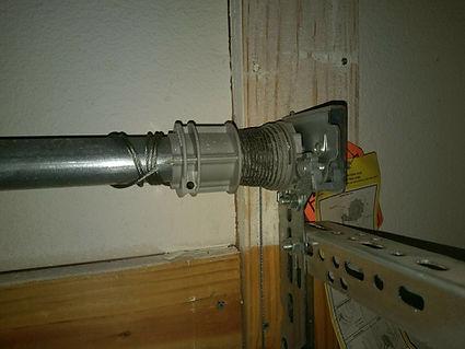 Gaage door spring system replacement