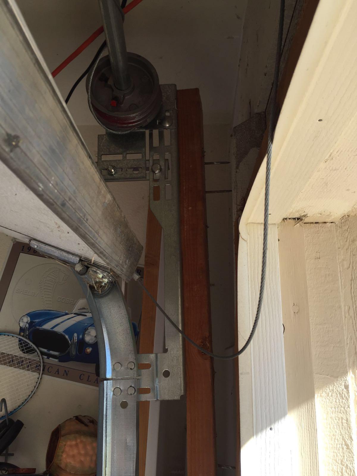 Garage Door Cable & roller Repair