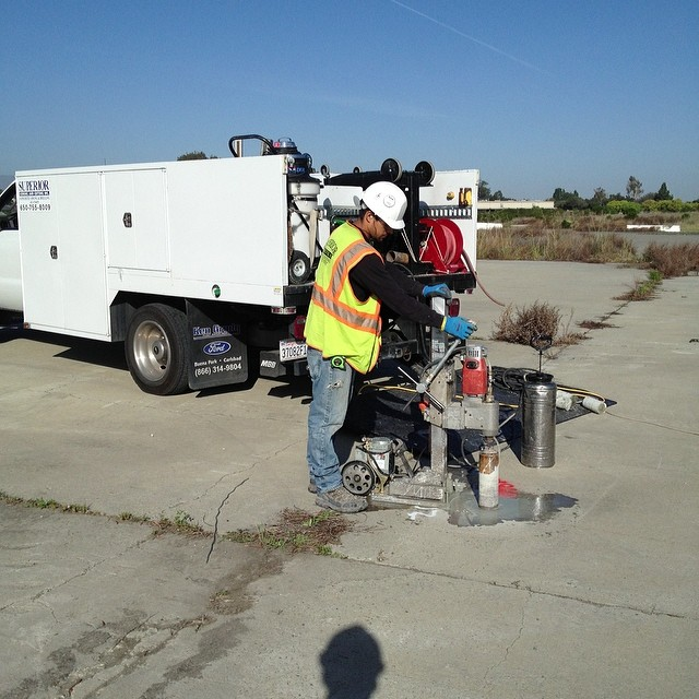 Instagram - Coring on the old tank test track FMC San Jose CA this was where you