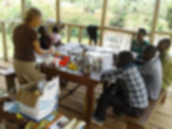 Team of Batwa learn to produce these pro