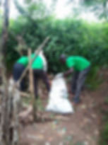 We mke outreaches to clean the community