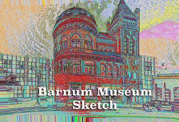 Barnum Museum Sketch