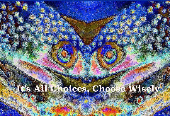 It's All Choices, Choose Wisely