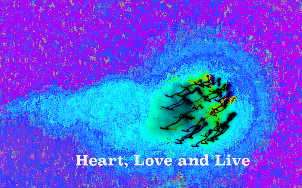 AG S1-048 Heart, Love and Live