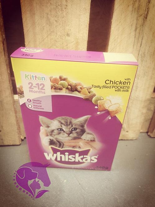 Whiskas Complete Kitten 180g Chicken