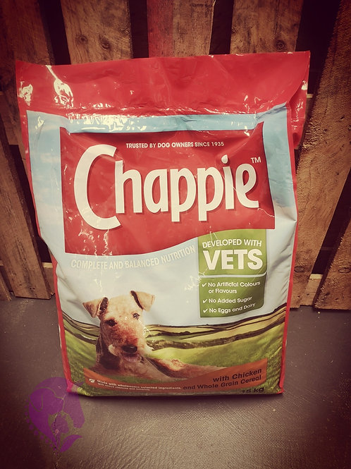 Chappie with Chicken & Whole Grain Cereal