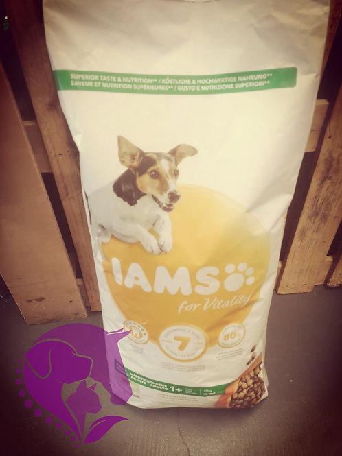 IAMS For Vitality Adult Small & Medium Breed with Lamb