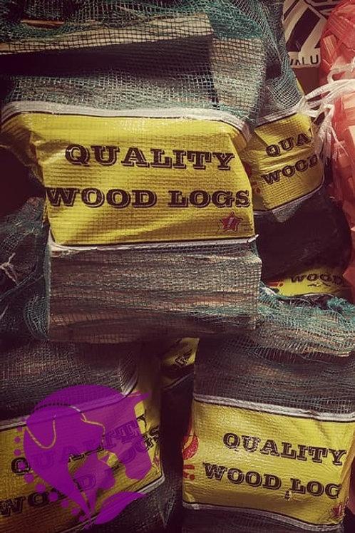 Logs Netted Bag