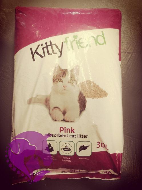 Kitty Friend Pink Cat Litter