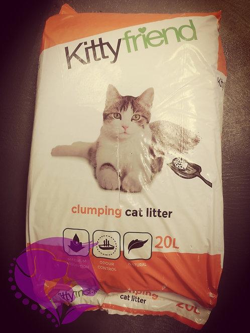 Kitty Friend Clumping Cat Litter