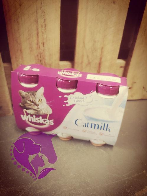 Whiskas Cat Milk 3 Pack 200ml
