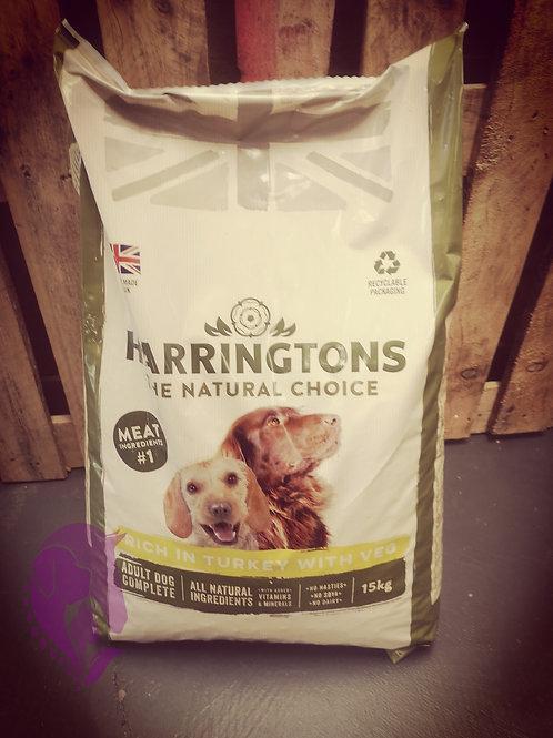 Harringtons Turkey with Veg