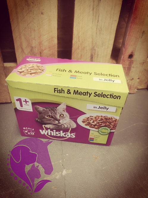 Whiskas 12 Pack Various