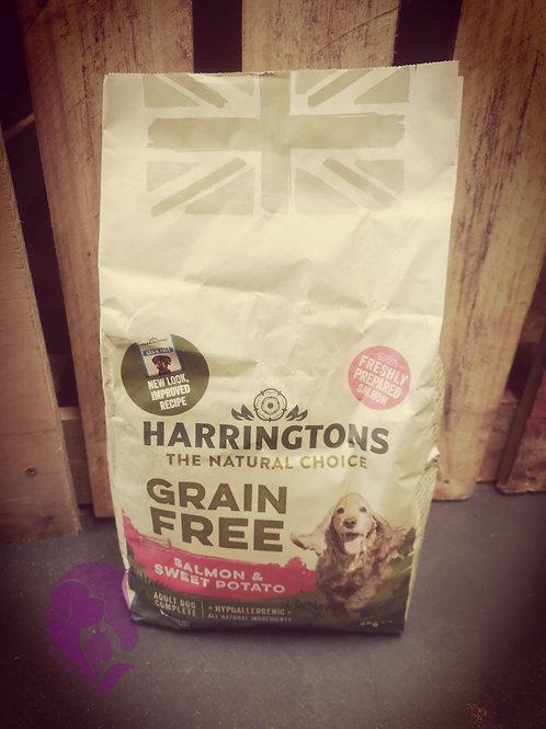 Harringtons Grain Free Salmon & Sweet Potato