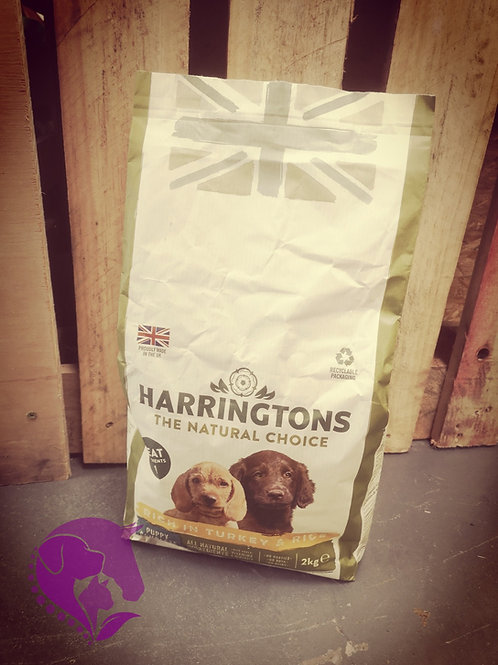 Harringtons Puppy Turkey & Rice