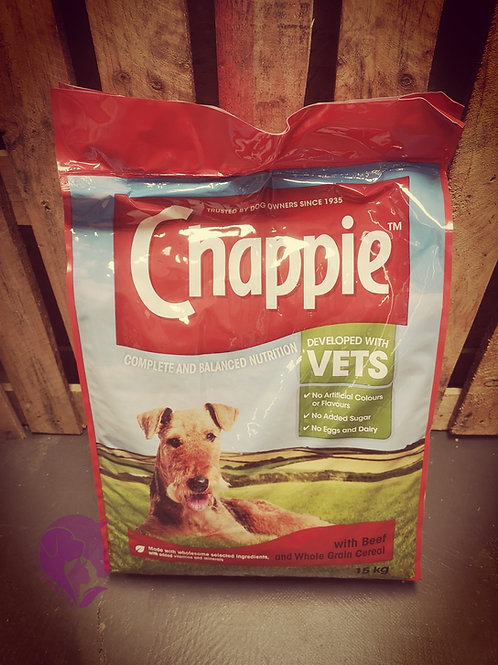 Chappie with Beef & Whole Grain Cereal