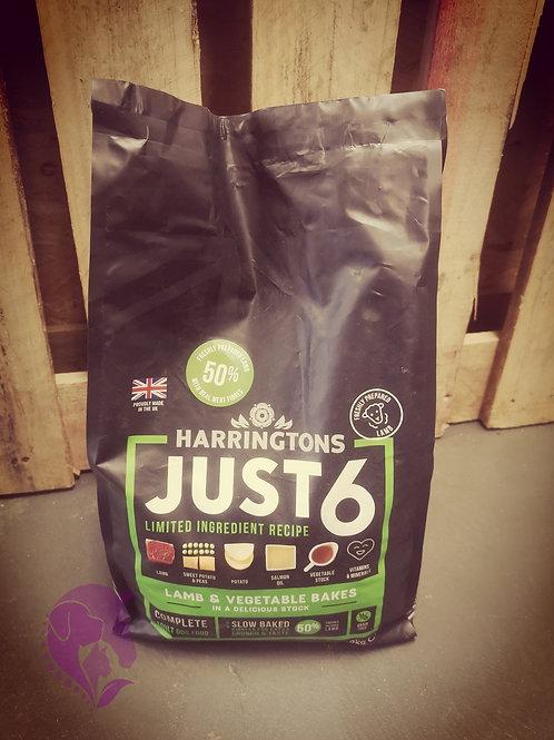 Harringtons Just 6 Lamb & Vegetable Bakes