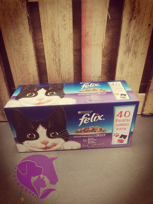 Felix Mixed Selection in Jelly 40 Pack