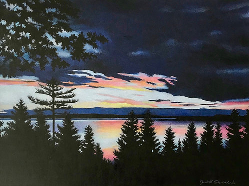 Twilight on the Bay  SOLD
