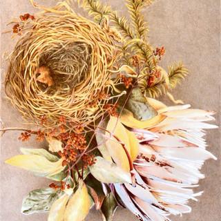 Nest with Ginger Flower II.jpg