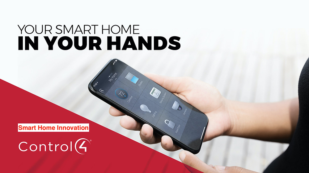 Total control of your home from the palm of your hand.