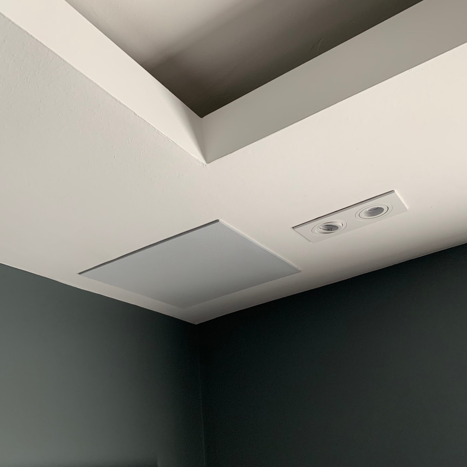 High-end rear home cinema ceiling speake