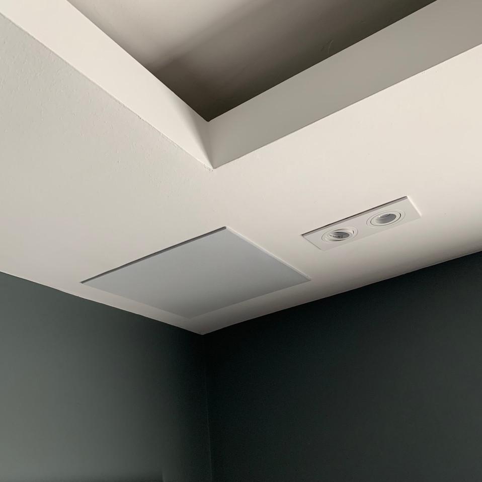 High-end rear home cinema ceiling speake