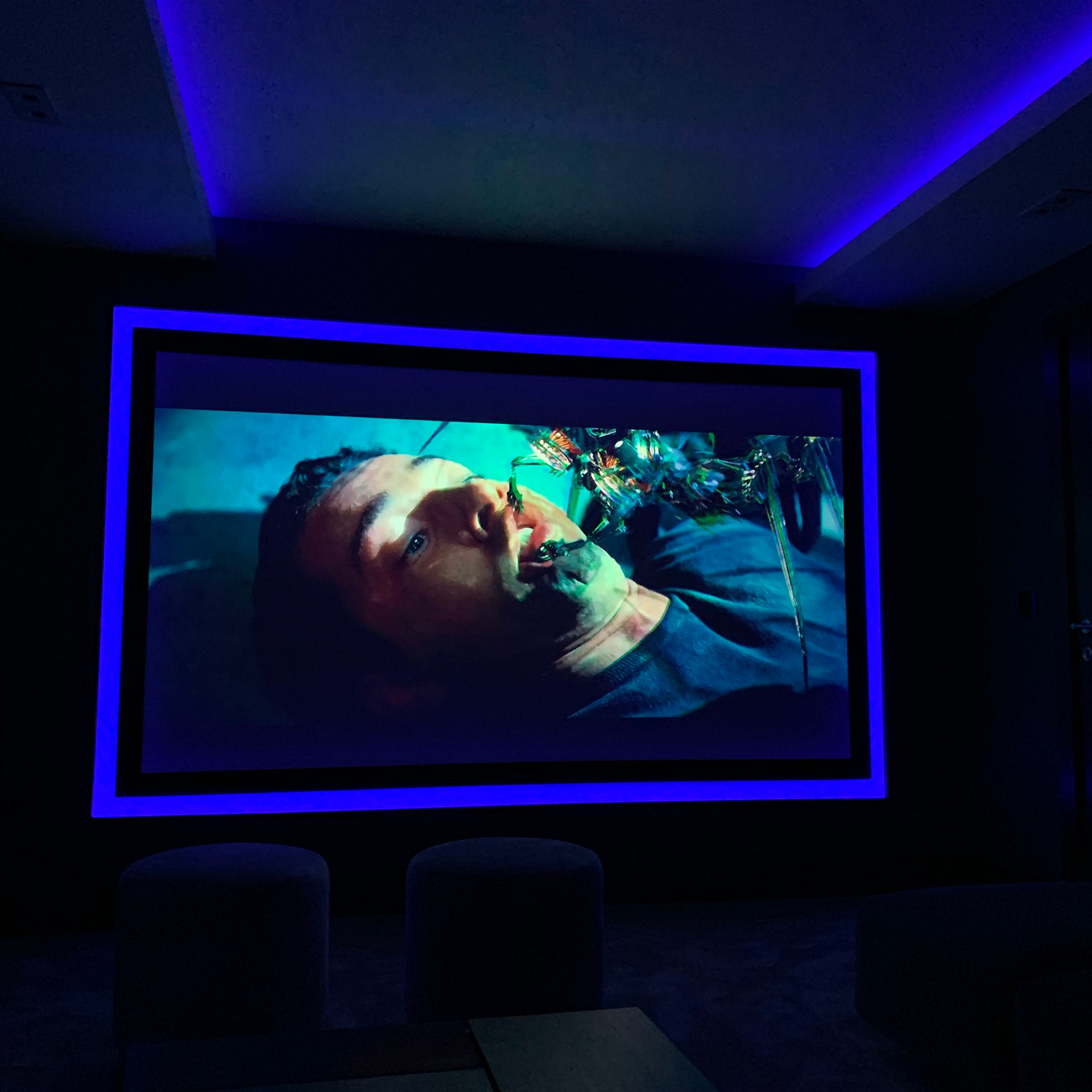 Smart home innovation-Bespoke home cinem