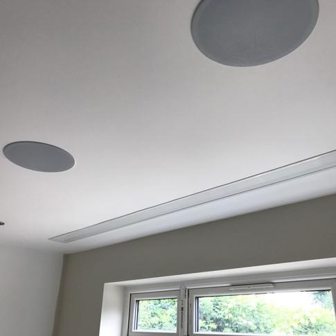 Home cinema in-ceiling speakers