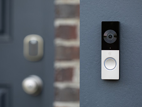 THE FIRST VIDEO DOORBELL BUILT FOR THE TRULY INTELLIGENT HOME.