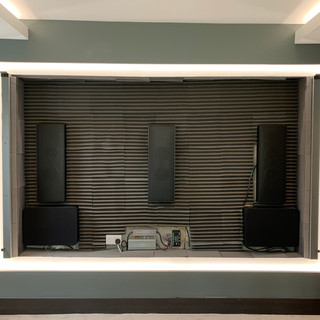 home cinema speakers with sound proof ma