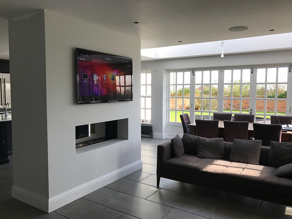Smart Home innovation Systems Limited - One of our fantastic home automation installations in Potters Bar