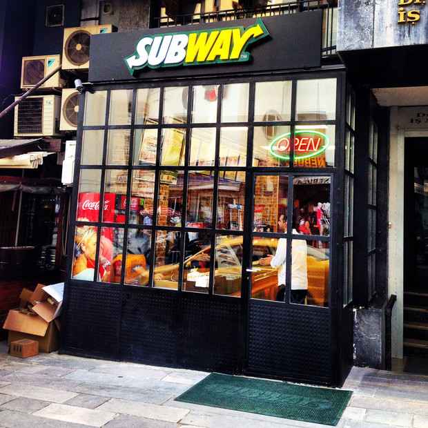 Subway Stores in Ankara