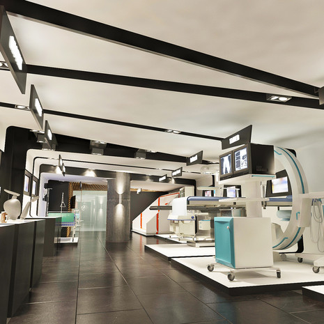 Medical Showroom Design