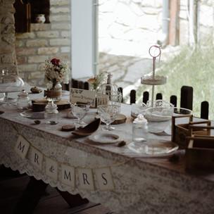 Desszert asztal