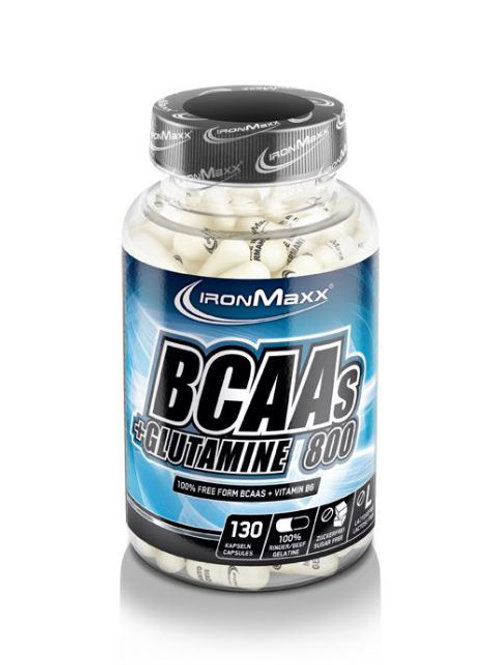 BCAA's + Glutamine 800  (130tabs)