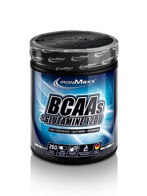 BCAA + Glutamine  (260caps)